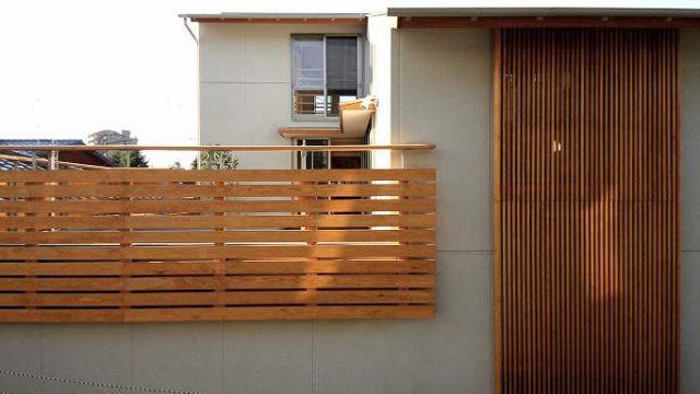 下関の木造3階建ての家